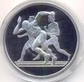 Греция 10 евро 2004. Олимпиада - Афины 2004. Бег