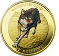 Канада 75 долларов 2009. Серия: Ванкувер – 2010. Волк