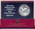 """Канада 20 долларов 2005. Коллекция """"Национальные парки"""" Орел"""