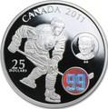 Канада 25 долларов 2011. Хоккей 99. Вальтер Гретцки.Арт.000560649500/60