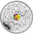 Канада 15 долларов 2012. Два оленя. На удачу