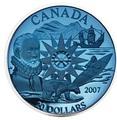 Канада 20 долларов 2007. Международный полярный год.