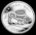 Канада 10 долларов 2011.Бизон.Арт.000189938597/60