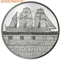 "Франция 50 евро 2013. Броненосец ""Глуар"""