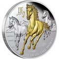 Ниуэ 8 долларов 2014 Год Лошади (Niue 8$ 2014 The Year of Horse 5Oz Silver).Арт.001194144867/60