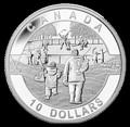 Канада 10 долларов 2013. Хоккей.Арт.000114744782