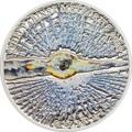Острова Кука 5 долларов 2013 Челябинский метеорит (Cook Islands 5$ 2013 Chelyabinsk meteorite).Арт.60