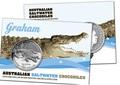 Австралия 1 доллар 2014. Австралийский Морской Крокодил - Грэм.Арт.000177944738