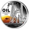 Ниуэ 1 доллар 2013. Открытие нефти в Австралии