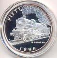 Маршалловы острова 50 долларов 1996. Поезд FS Group 691