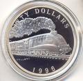 Маршалловы острова 50 долларов 1996. Поезд -Mallard