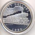 Маршалловы острова 50 долларов 1996. Поезд - DB Class 01