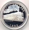 Маршалловы острова 50 долларов 1996. Поезд - Renfe Class 242