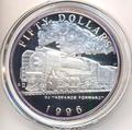 Маршалловы острова 50 долларов 1996. Поезд - QJ Advance Forward