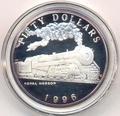 Маршалловы острова 50 долларов 1996. Поезд - Royal Hudson