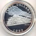 Маршалловы острова 50 долларов 1996. Поезд - Big Boy