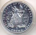 Гибралтар 1 крона 1993. Столетие кролика Питера