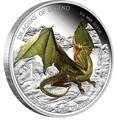 Тувалу 1 доллар 2013.Европейский зелёный дракон - Драконы из легенд.Арт.000326943248/60