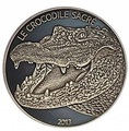 Буркина-Фасо 1000 франков 2013. Священный крокодил.