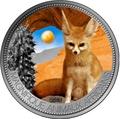 Нигер 1000 франков 2013 Лиса Фенек серия Великолепные животные Африки.Арт.001000047533