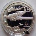 """Маршалловы острова 5 долларов 1991. """"Самолет Р-40 Warhawk"""".Арт.000035146930"""