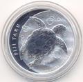 """Фиджи 2 доллара 2013.""""Морская Черепаха Таку""""."""