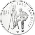 "Финляндия 10 евро 2013.""Ээро Ярнефельт. 150 лет со дня рождения.""Арт.000224245776"