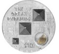 """Британские Виргинские Острова 10 долларов 2013.""""Великие Пирамиды""""-3D.Арт.000663046719"""