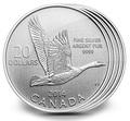 """Канада 20 долларов 2014.""""Гусь"""".Арт.000077846281/60"""