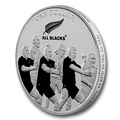 Новая Зеландия 1 доллар 2011. «Регби-Олл Блекс». « Новозеландские регбисты «танцующие» хаку».Арт.000287145515