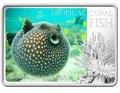 Ниуэ 1 доллар 2013. «Белоточечный аротрон» серия «Тропические коралловые рыбы».Арт.000322246469