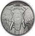 Габон 1000 франков 2012. «Слон».Арт.000345246960