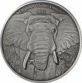 Габон 2000 франков 2012. «Слон».Арт.000345246963