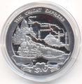 Британские Виргинские Острова 10 долларов 2013. «Поезд - Восточный Экспресс».Арт.000210947196