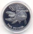 Южная Георгия и Южные Сендвичевы острова 2 фунта 2014. «Дельфины».Арт.000210947291
