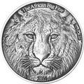 Буркина Фасо 1000 франков 2014 Лев Большая Африканская Пятерка (Burkina Faso 1000FCFA 2014 Big 5 Lion 1 oz Silver Coin).Арт.000626249801