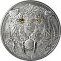 Буркина Фасо 5000 франков 2013. «Саблезубый тигр – Смилодон».Арт.000906846829