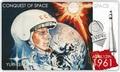 Ниуэ 2 доллара 2011.Юрий Гагарин – Покорение Космоса.Арт.000281346431/60