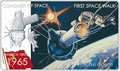 Ниуэ 2 доллара 2011.Алексей Леонов – Покорение Космоса.Арт.000281346436/60