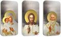 Ниуэ 2 доллара 2012 набор из трех монет. «Триптих – Иконы - Матерь Божья, Иисус Христос, Николай Угодник» серия «Православные Святыни».Арт.001227546419