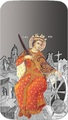Ниуэ 2 доллара 2012.«Икона Святая Екатерина» серия «Православные Святыни».Арт.000357940247