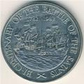 Сент-Люсия 10 долларов 1982. «200-летие сражения у островов Всех Святых».