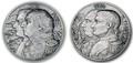 Ниуэ 5 долларов 2012 набор из двух монет. Война 812 года - «Кутузов и Наполеон».Арт.001125246318