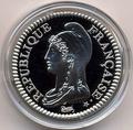 Франция 10 франков 2000. «Марианна времен революции 1795» серия «2000 лет Французским монетам».Арт.000400047550