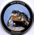 Уганда 100 шиллингов 2010. «Крокодил» серия «Животные людоеды».Арт.000041247487
