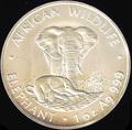 Замбия 4000 квач 1998. «Слон с детенышем» серия «Дикая Африка».Арт.000120147493