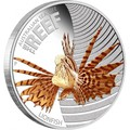 Австралия 50 центов 2009. «Рыба-Лев» серия «Морская жизнь Австралии – Риф».Арт.000109230985