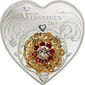 Острова Кука 5 долларов 2014. «Сердце – День Святого Валентина».Арт.000224245962
