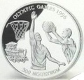 Бутан 300 нгултрум 1994. Баскетбол – Олимпийские игры 1996 в Атланте.Арт.000100847791