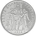 Франция 10 евро 2012. Геракл – серия «Геркулес».Арт.000108039108